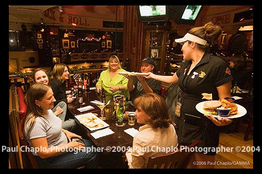 Hard Rock Cafe. Joe Perry at Hard Rock Cafe